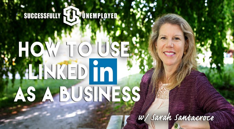 how to use linked in as a business